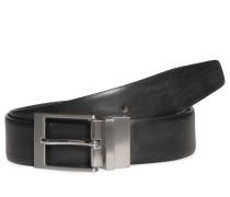 Wendegürtel schwarz/ braun