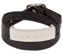 Armband anthrazit/silber