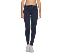 Leggings navy/rot