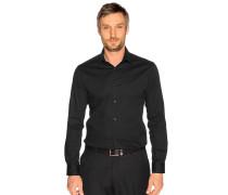 Business Hemd Slim Fit schwarz