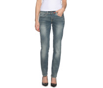 Jeans Migde Saddle Mid Straight blau