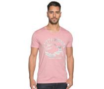 Kurzarm T-Shirt hellrot