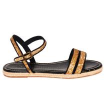 Sandalen gold