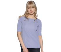 Kurzarm T-Shirt graublau