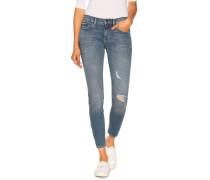 Jeans MR Skinny ankle blau