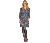 Kleid blau/mehrfarbig