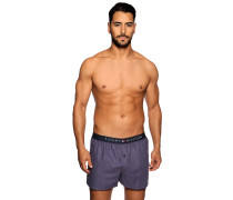 Boxershorts blau/rot