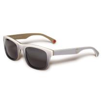 Sonnenbrille weiß/grau
