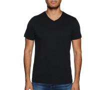 Kurzarm T-Shirt 2er Set schwarz