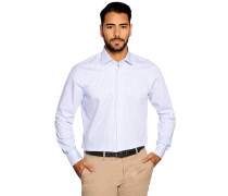 Business Hemd Custom Fit weiß/blau gestreift