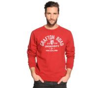 Sweatshirt, Rot, Herren