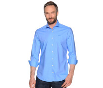 Langarm Hemd Regular Fit hellblau