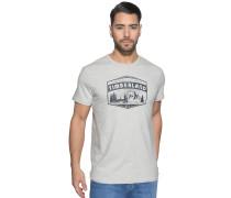 T-Shirt, grau meliert