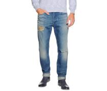 Jeans Taper blau