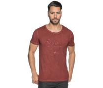 Kurzarm T-Shirt rost