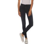 Jeans Skinny Mid Rise schwarz