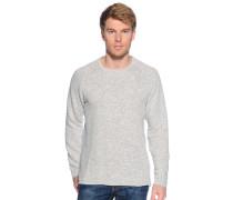 Sweatshirt offwhite meliert