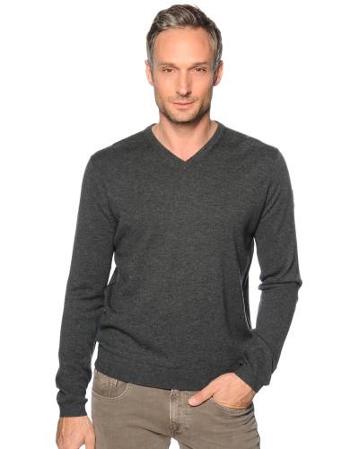 Pullover anthrazit meliert