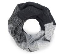 Loopschal schwarz/grau meliert