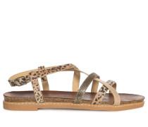 Sandalen beige/braun