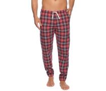 Pyjamahose rot/blau
