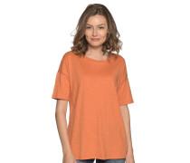 Kurzarm T-Shirt orange