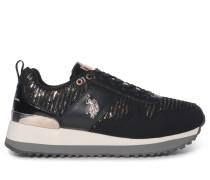 Sneaker schwarz/rosé