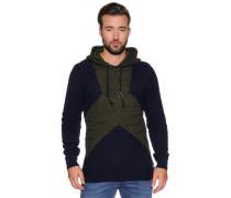 Pullover navy/khaki