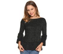Pullover schwarz/gold
