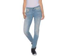 Jeans Lynn Mid Skinny hellblau