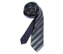 Krawatte navy gestreift