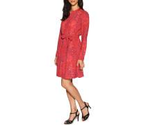 Kleid rot/multi