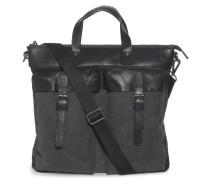 Tasche schwarz/grau