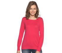 Pullover mit Kaschmiranteil pink
