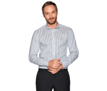 Business Hemd Regular Fit weiß/grün