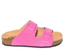 Pantoletten, pink