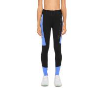 Sport-Leggings schwarz/blau