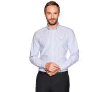 Business Hemd Regular Fit weiß/hellblau