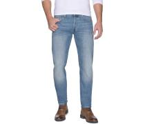 Jeans 3301 Tapered hellblau
