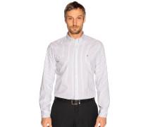 Business Hemd Regular Fit blau/weiß gestreift