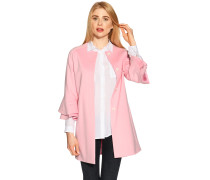 Kurzmantel rosa