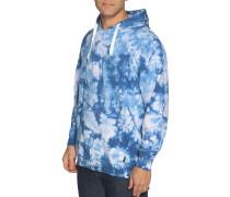 Sweatshirt blau/weiß