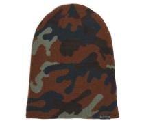 Mütze braun/grün