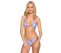 Bikini blau/mehrfarbig