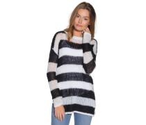 Pullover schwarz/weiß