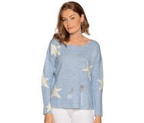 Pullover hellblau/offwhite