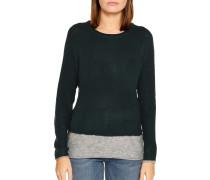 Pullover flaschengrün/grau