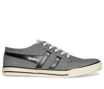 Sneaker, grau/schwarz