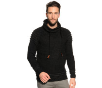 Pullover schwarz/meliert