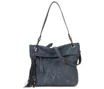 Handtasche graublau